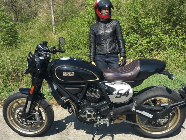 "Like the original 2015 Scrambler, the Cafe Racer is a nice blend of modern and retro ""throwback"" styling, with performance and handling to match."