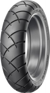 Dunlop Trailsmart tire (rear).