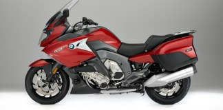 2017 BMW K 1600 GT in Mars Red Metallic.