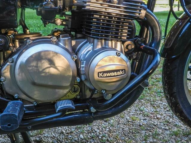 Kawasaki Spectre engine.