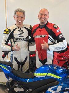 Shinichi Sahara, Chief Engineer Suzuki GSX-R1000