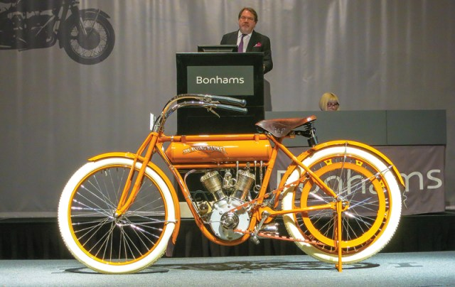 Bonhams and Mecum Motorcycle Auction