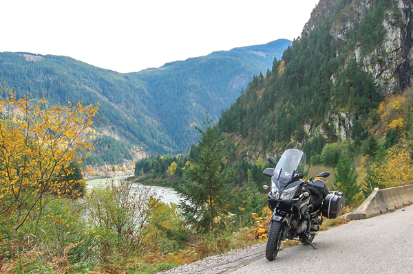 British Columbia motorcycle ride