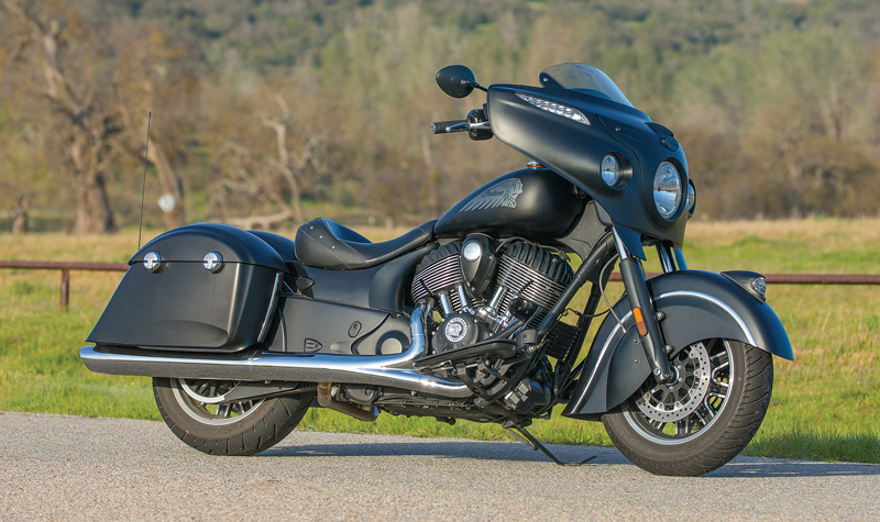 In Depth 2017 Indian Chieftain Dark Horse