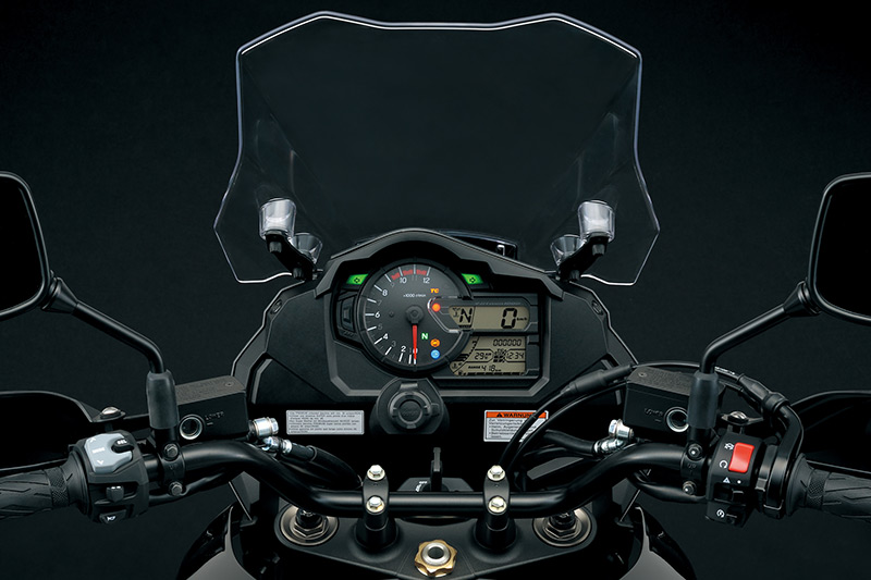 2018 suzuki touring motorcycles. contemporary touring 2018 suzuki vstrom 1000 cockpit for suzuki touring motorcycles