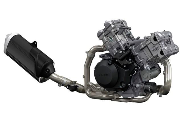 2018 Suzuki V-Strom 1000 engine