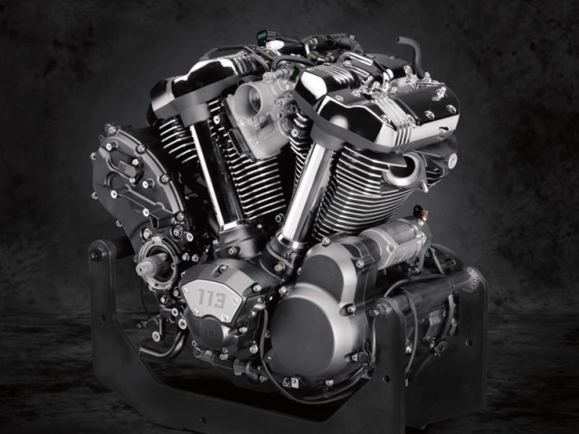 2018 Yamaha Star Venture engine