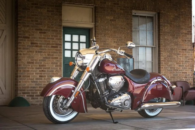 2018 Indian Chief Classic in Burgundy Metallic. Images courtesy Indian Motorcycle.