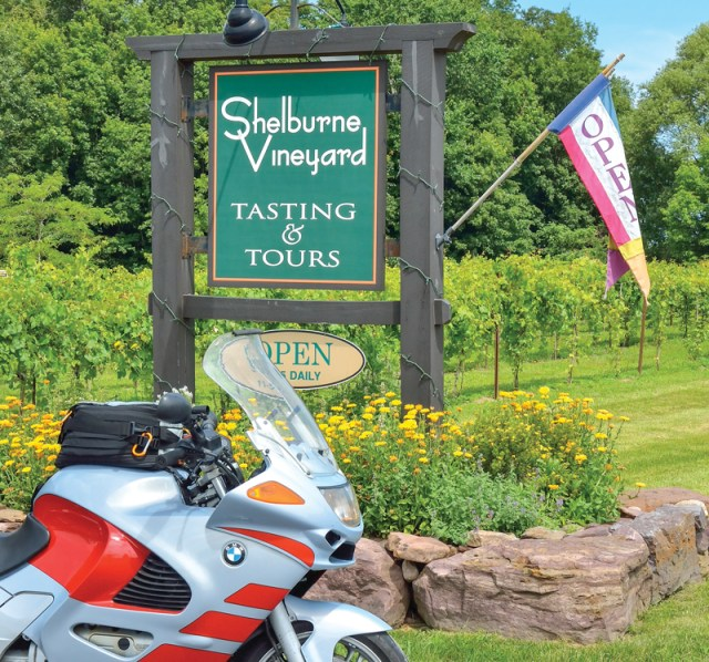 Lake Champlain motorcycle ride