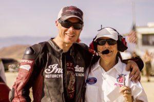 Indian Sets Land Speed Records at El Mirage