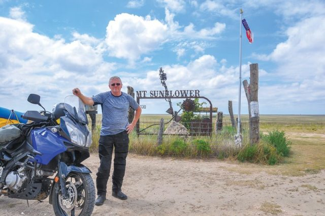 West Kansas motorcycle ride