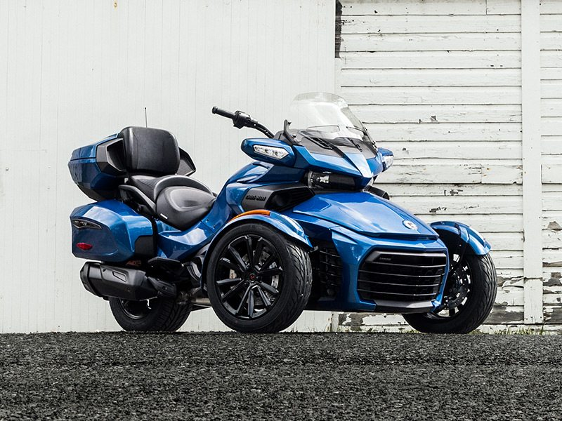 2018 updates to the can am spyder lineup rider magazine. Black Bedroom Furniture Sets. Home Design Ideas