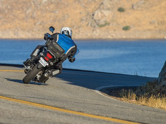 cornering on a motorcycle