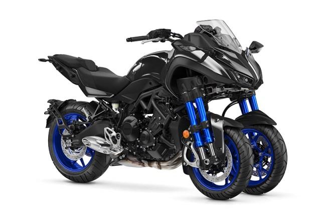 2019 Yamaha Niken Leaning Multi Wheel (LMW) motorcycle