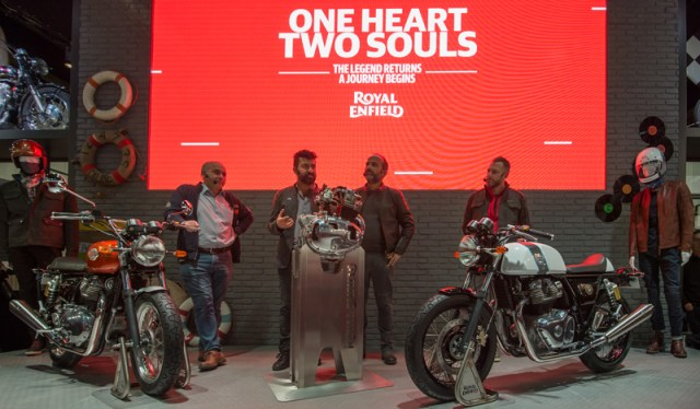 2018 Royal Enfield unveil