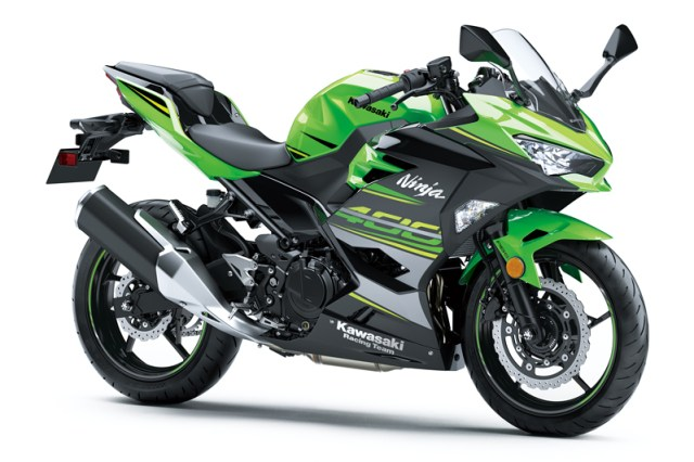 The 2018 Kawasaki Ninja 400