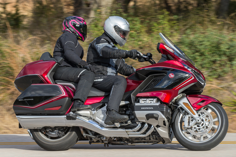 Honda Gold Wing >> 2018 Honda Gold Wing Tour First U S Ride Review Rider Magazine