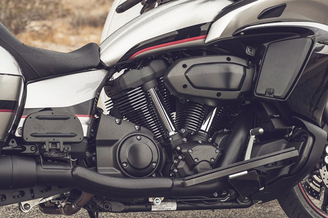 2018 Yamaha Star Eluder engine