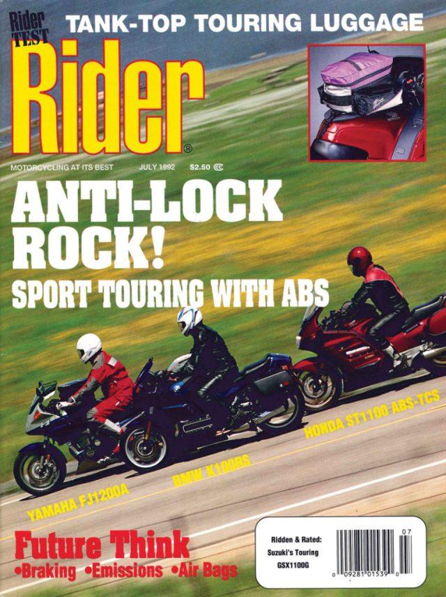 Rider cover 1992