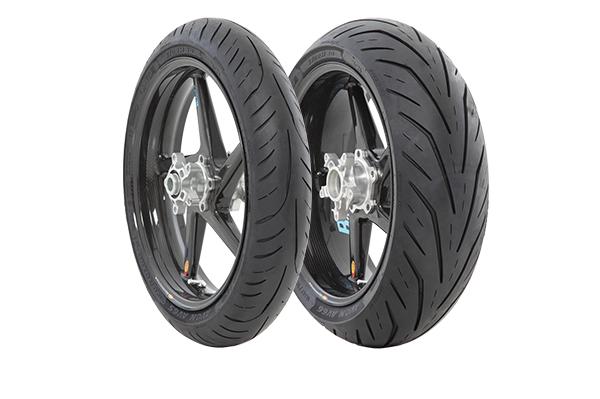 Avon Storm 3D X-M Tires.