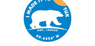 I Made it to Tuk sticker