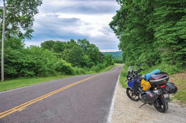 Missouri river road ride