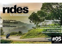 Favorite Rides and Destinations #5 Spring 2018 cover