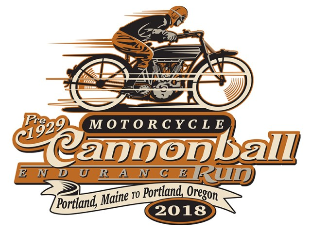 2018 Motorcycle Cannonball Endurance Run logo