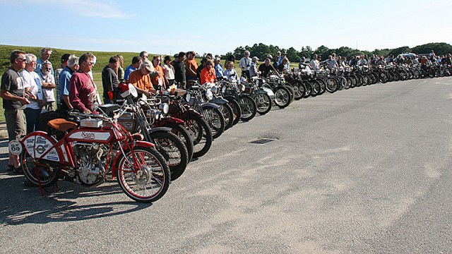 Motorcycle Cannonball Endurance Run