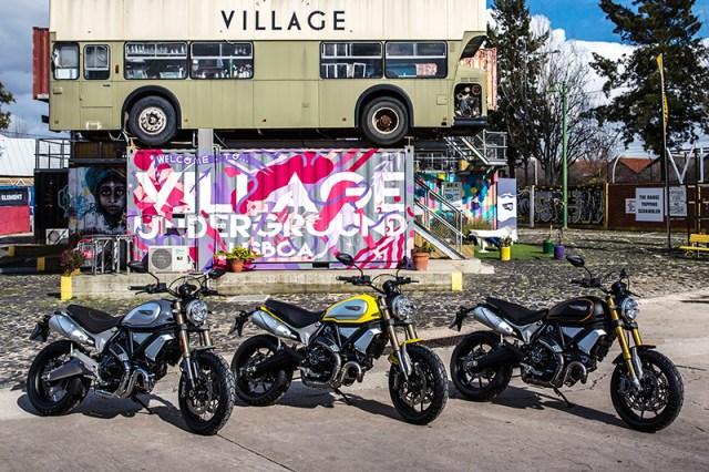 2018 Ducati Scrambler 1100 Special, standard and Sport