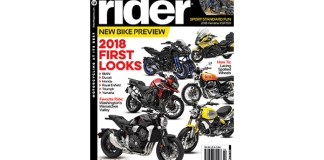 Rider magazine February 2018 cover