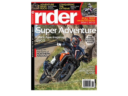 Rider June 2018 Cover