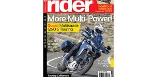 Rider magazine March 2018 cover