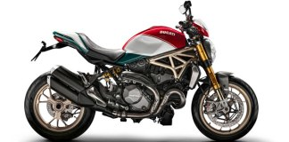 Ducati Monster 25 Anniversario profile