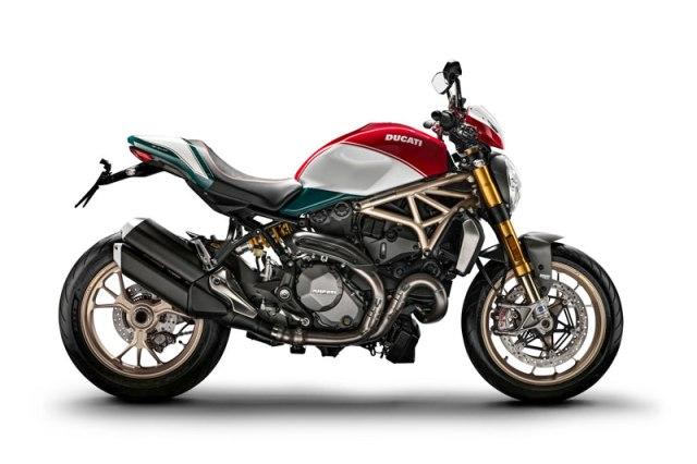Ducati Monster 25 Anniversario profile