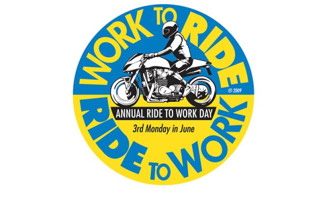 Ride To Work Day this year is Monday, June 18th.