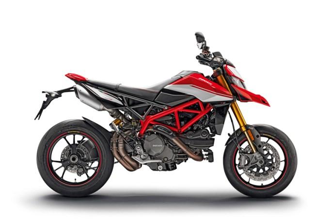 2019 Ducati Hypermotard 950 SP. Image courtesy Ducati.