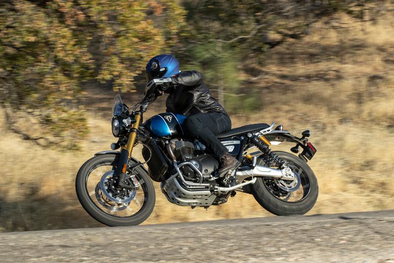 2021 Triumph Scrambler 1200XE Vintage Motorcycle