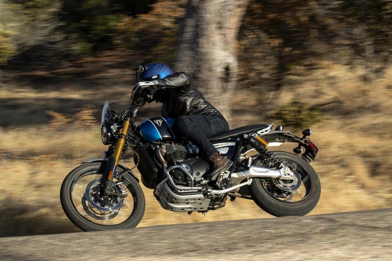 2021 Triumph Scrambler 1200XE Torque