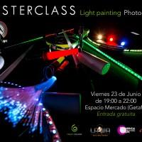 2017 MASTERCLASS Light painting Festival Cultura Inquieta 2017 (Getafe)