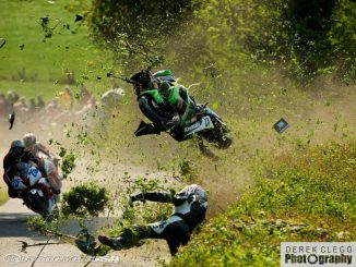 isle of man tt crash