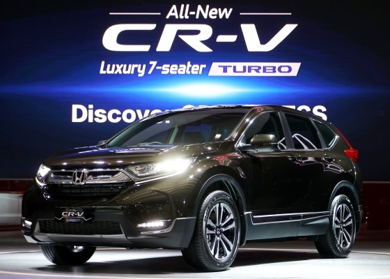 all new honda CR-V Turbo 2017