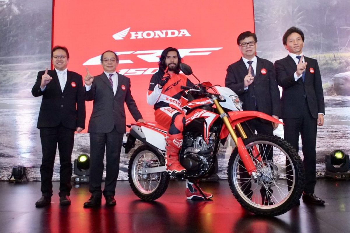 All New Honda CRF150L 2018 Review Spesifikasi Pilihan Warna Harga