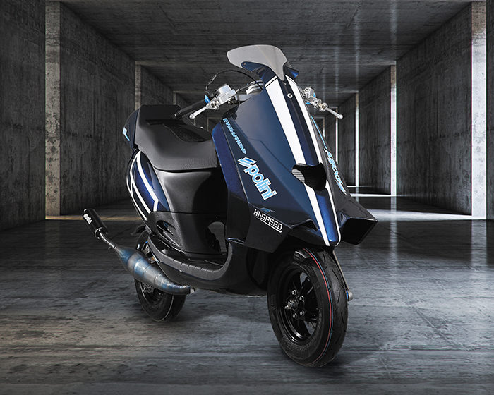 Prototype Polini Scooter