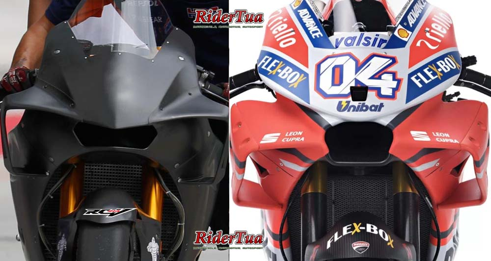 Honda RC213V 2018 Vs Desmosedici GP18