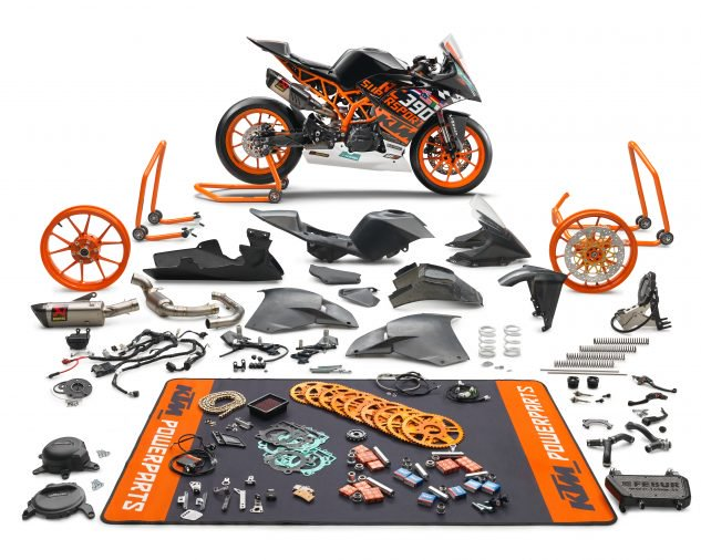 KTM RC 390 R 2018 Racing KIT