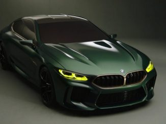 BMW M8 Gran Coupe 2018