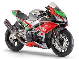 2018 Aprilia RSV4 RF dengan Factory Works kit