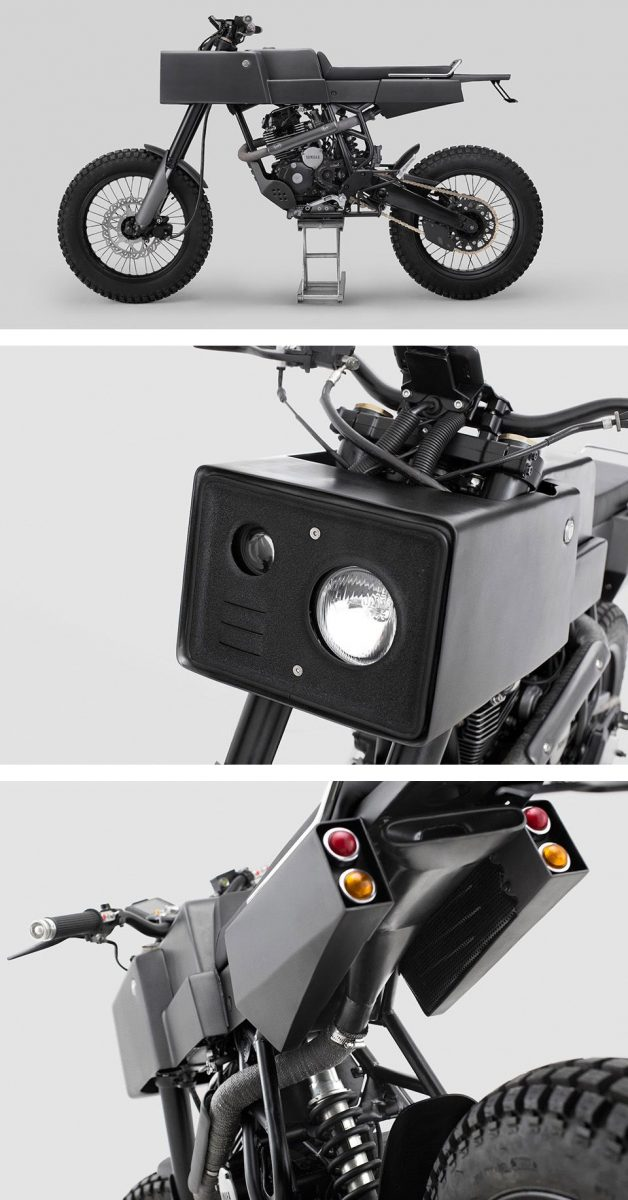 T005 Cross Thrive motorcycle