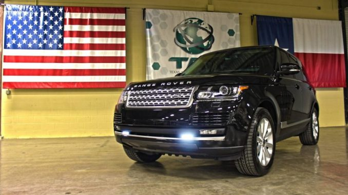 Range Rover armored cars